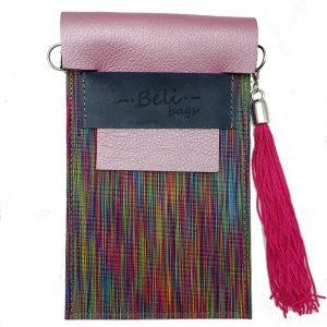 Cuelga-móvil Rosa Multicolor