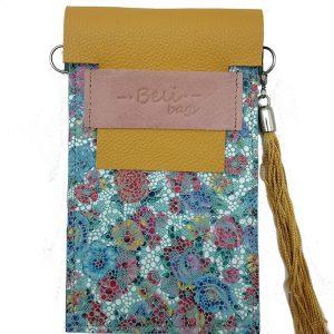 Cuelga-móvil Floral & Amarillo